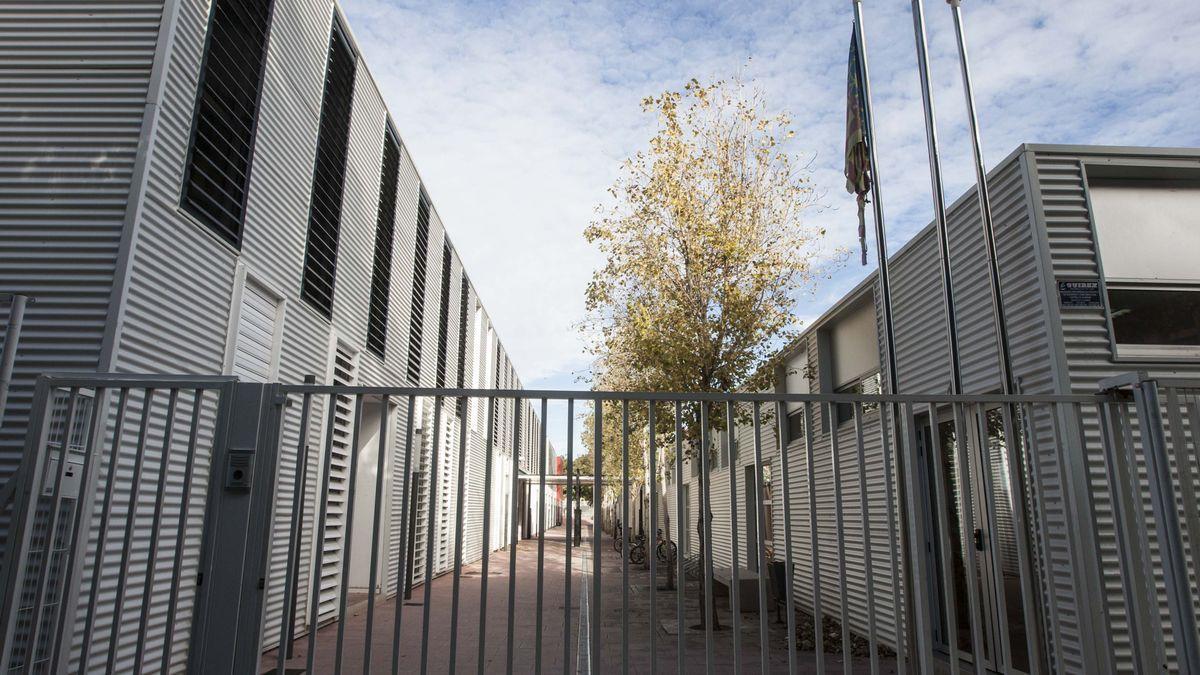 Aulas de un colegio de San Vicente del Raspeig.