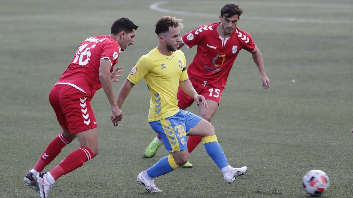UD Tamaraceite draws a draw against the yellow subsidiary