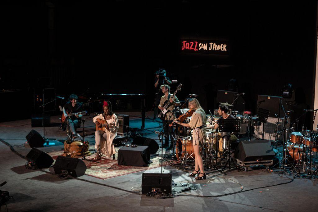 Lucrecia en Jazz San Javier