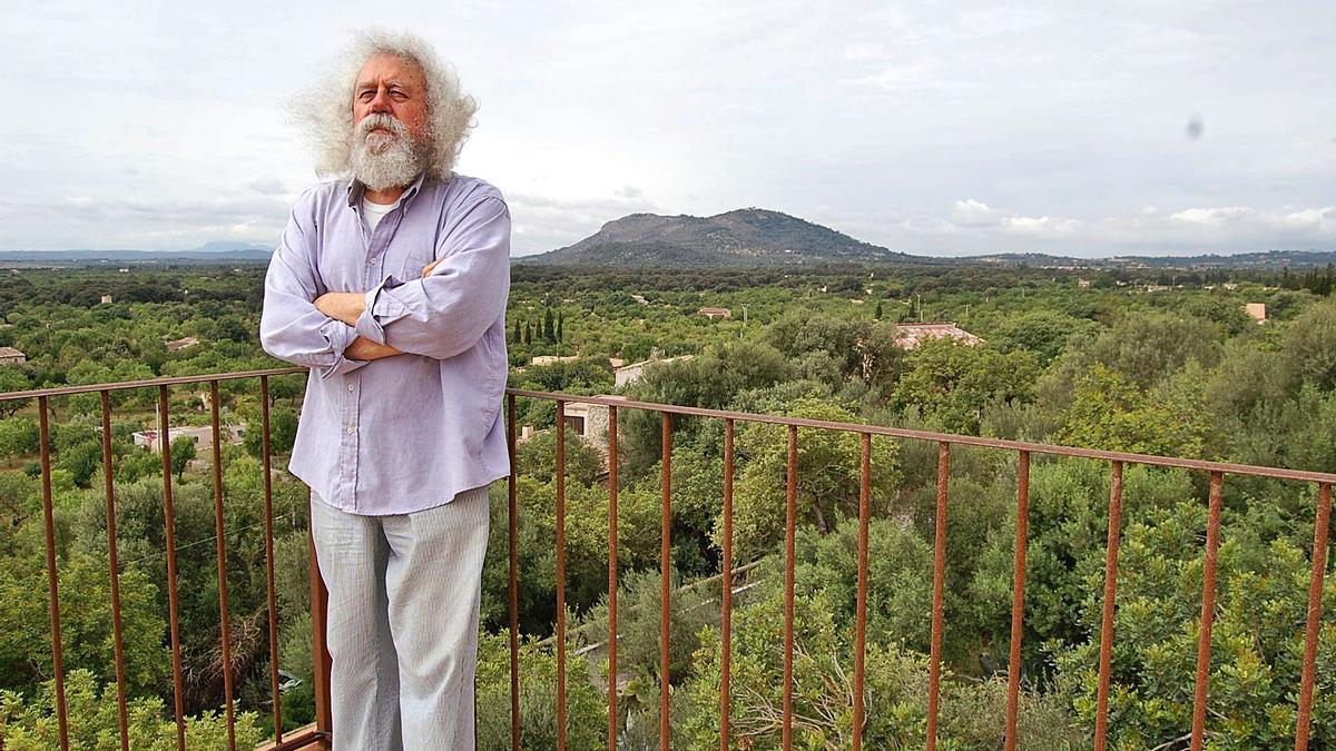 El  artista y compositor mallorquín Antoni Caimari en una imagen de archivo.  