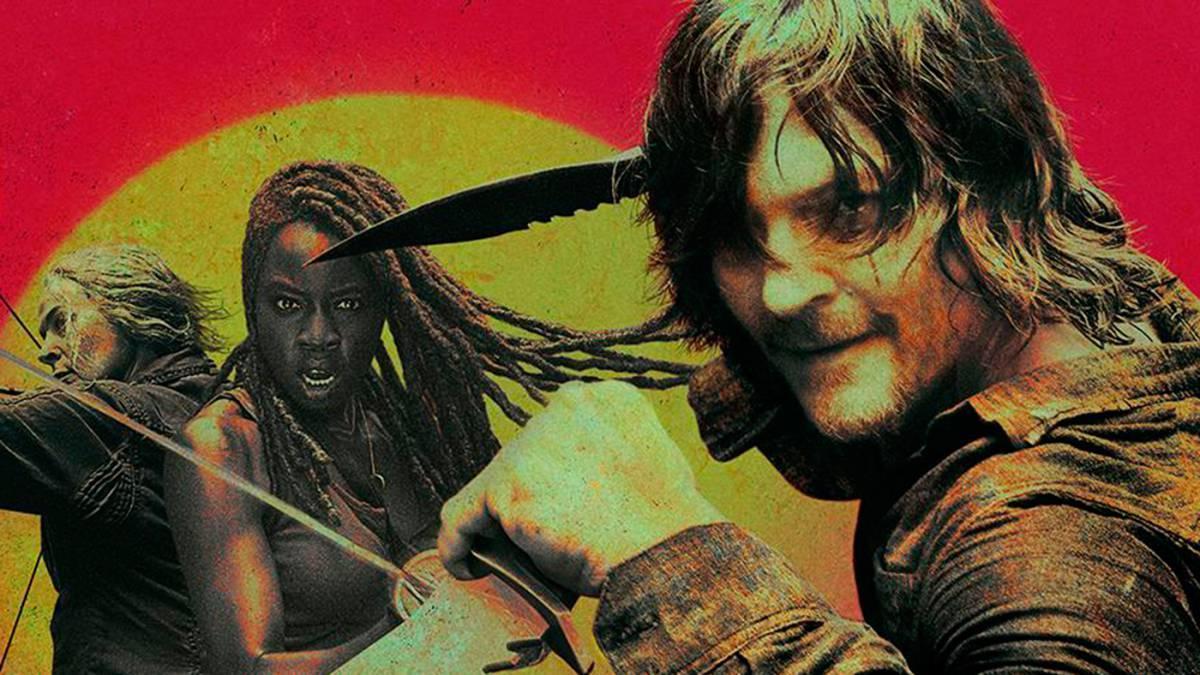 Imagen promocional de la décima temporada de The Walking Dead.