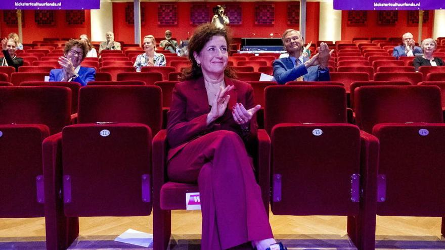 La ministra de Educación y responsable de Emancipación, Ingrid Van Engelshoven.