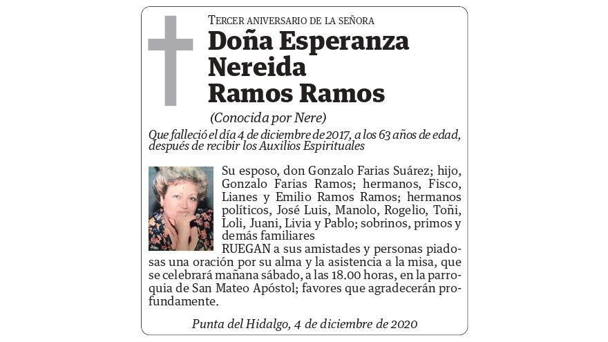 Esperanza Nereida Ramos Ramos