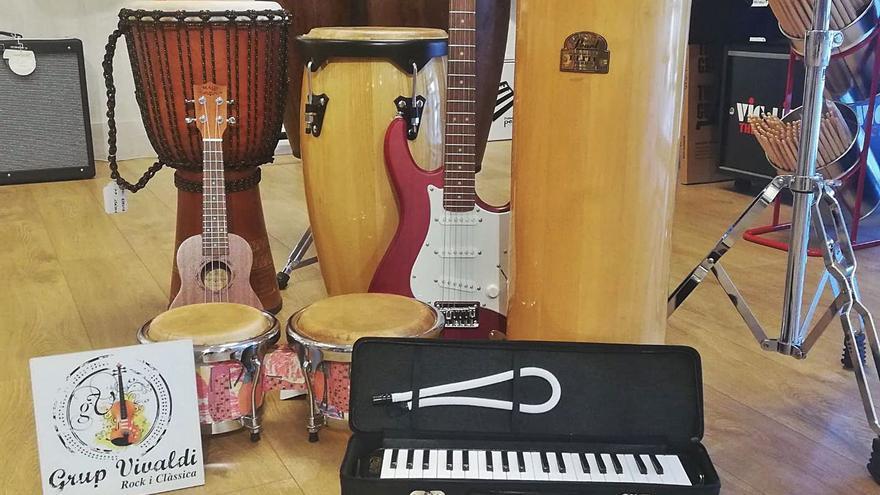 Instruments i material de les millors marques al Grup Vivaldi