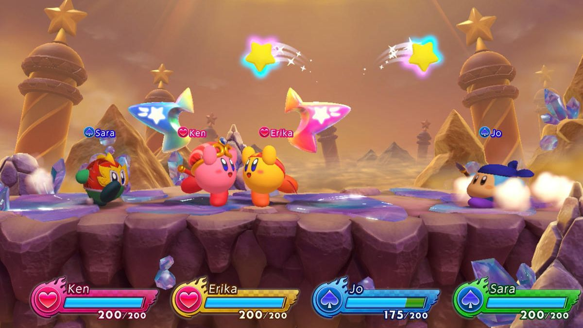 Kirby Fighters 2.
