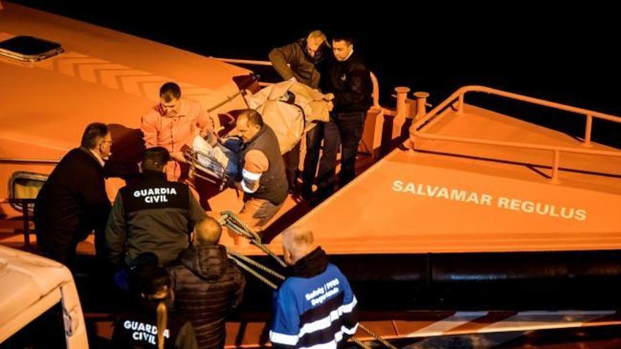 Tres muertos y un desaparecido en un naufragio