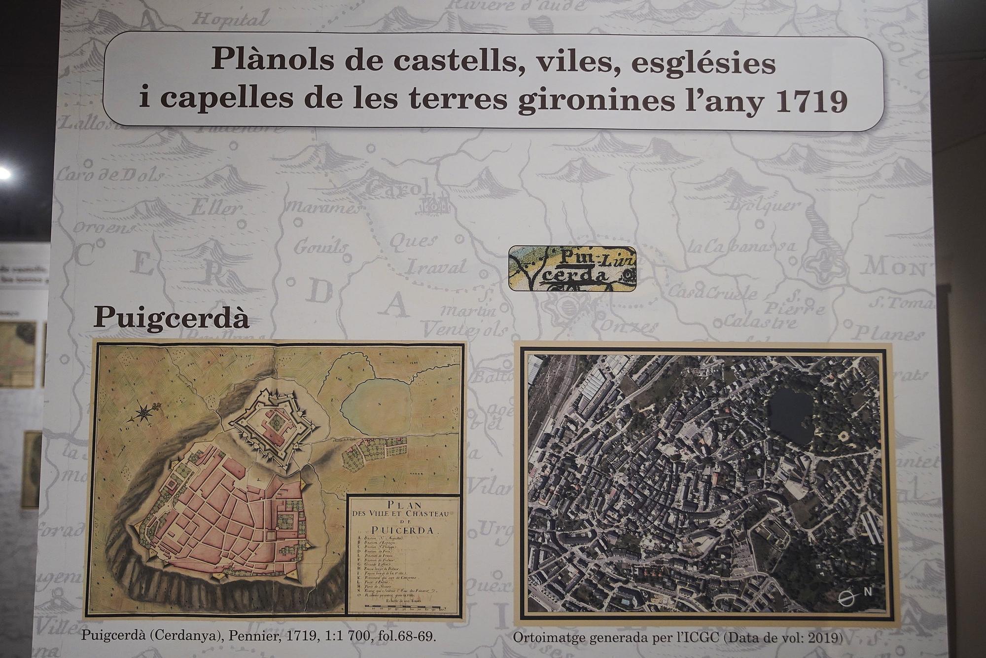 La Casa de Cultura exposa mapes de les comarques gironines del segle XVIII