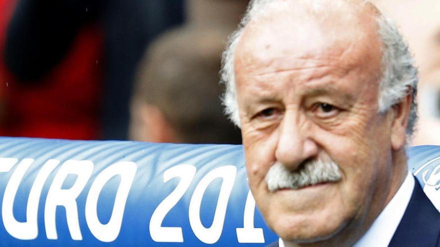Vicente del Bosque comunica a Villar que deja la selección