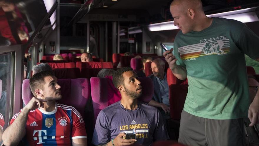 «15:17 Tren a París»: Amb el terror a bord