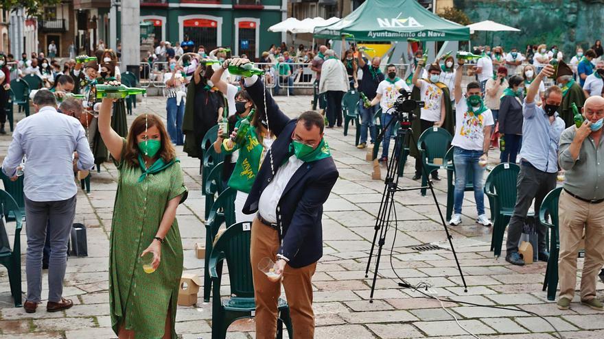 La mejor sidra se hace en Siero: Sidra Fran se lleva el galardón del Festival de Nava