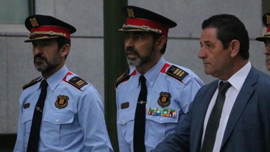 """Els Mossos, després de la destitució de Trapero: """"Continuem treballant amb normalitat"""""""