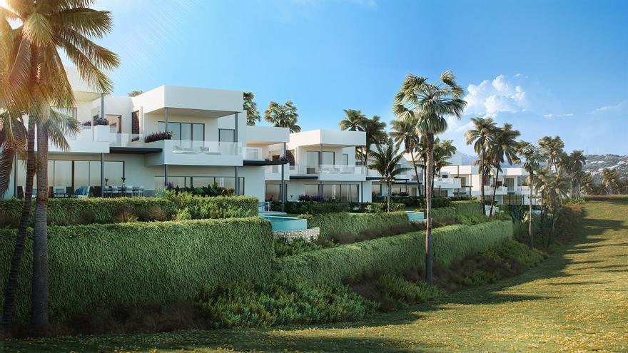 La Milla de Oro acogerá cinco villas exclusivas diseñadas por Karl Lagerfeld - La Opinión de Málaga