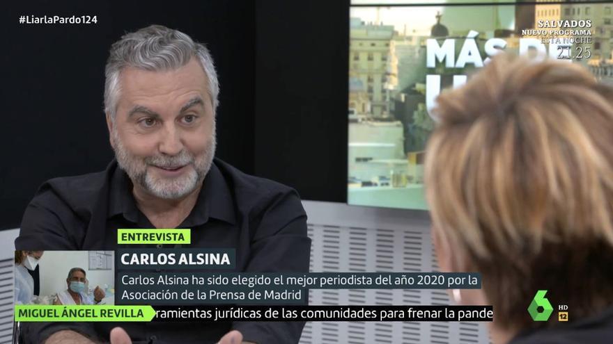 Carlos Alsina es mulla i dona el nom dels polítics (de diferents partits) que el tenen vetat