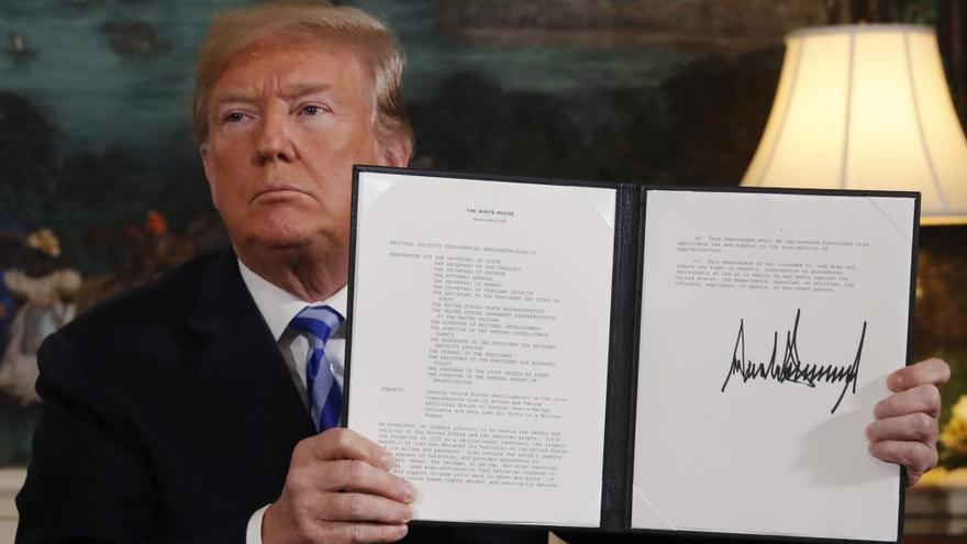 El líder suprem de l'Iran avisa Trump: «Has comès un error»
