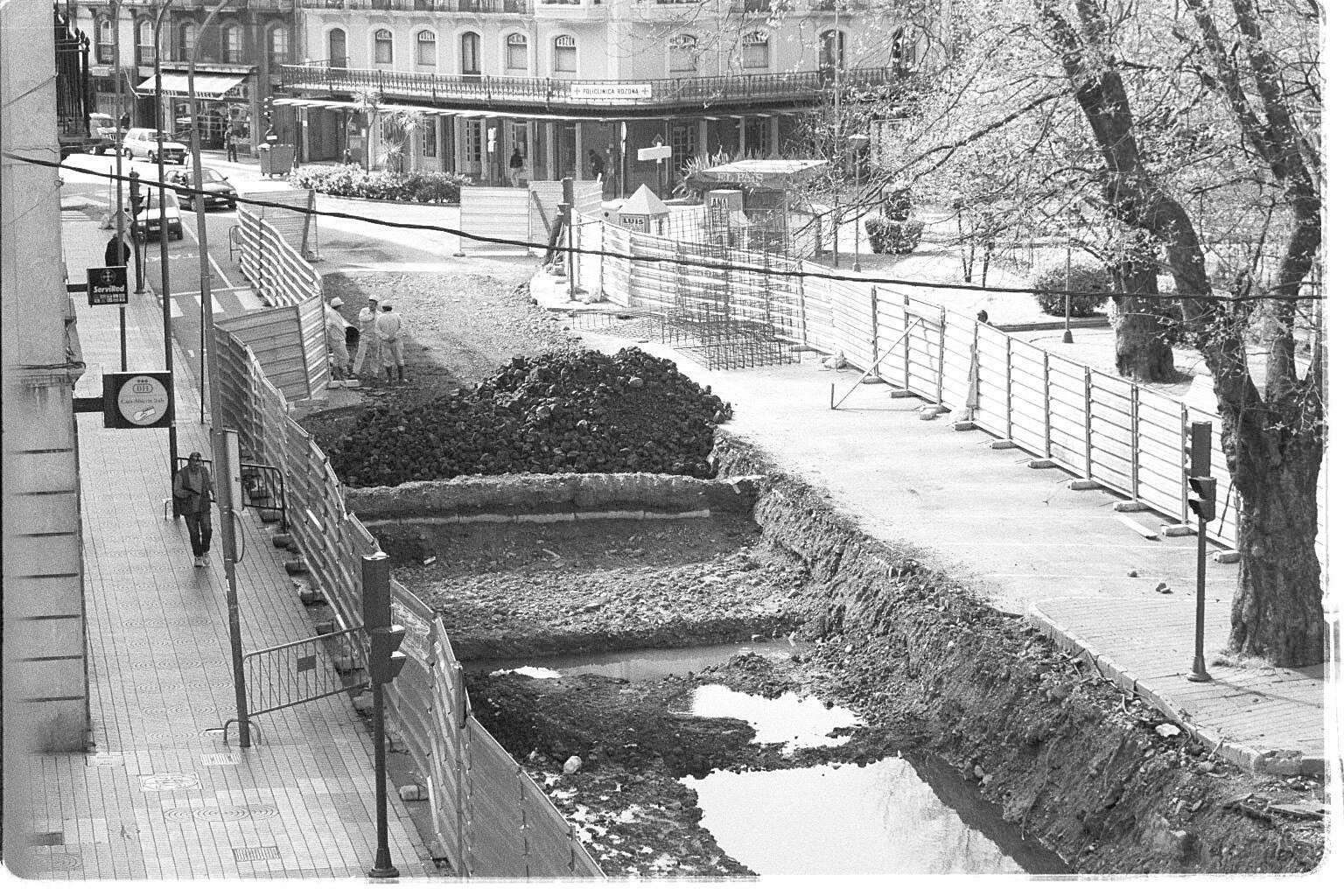 La historia del parque del Muelle, en imágenes.