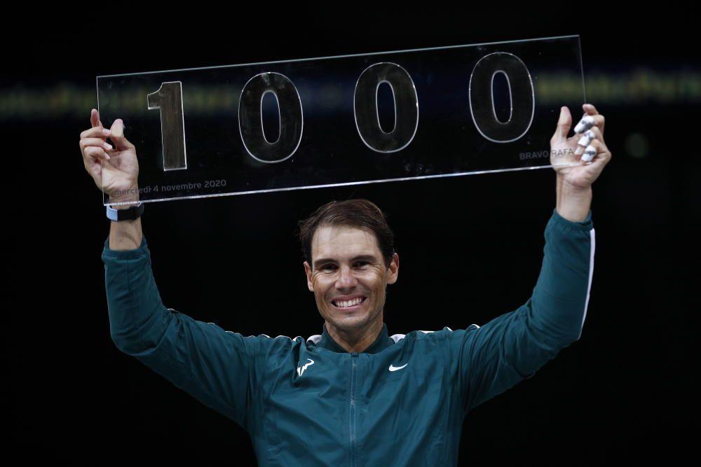 Masters 1.000 París: Rafa Nadal - Feliciano López