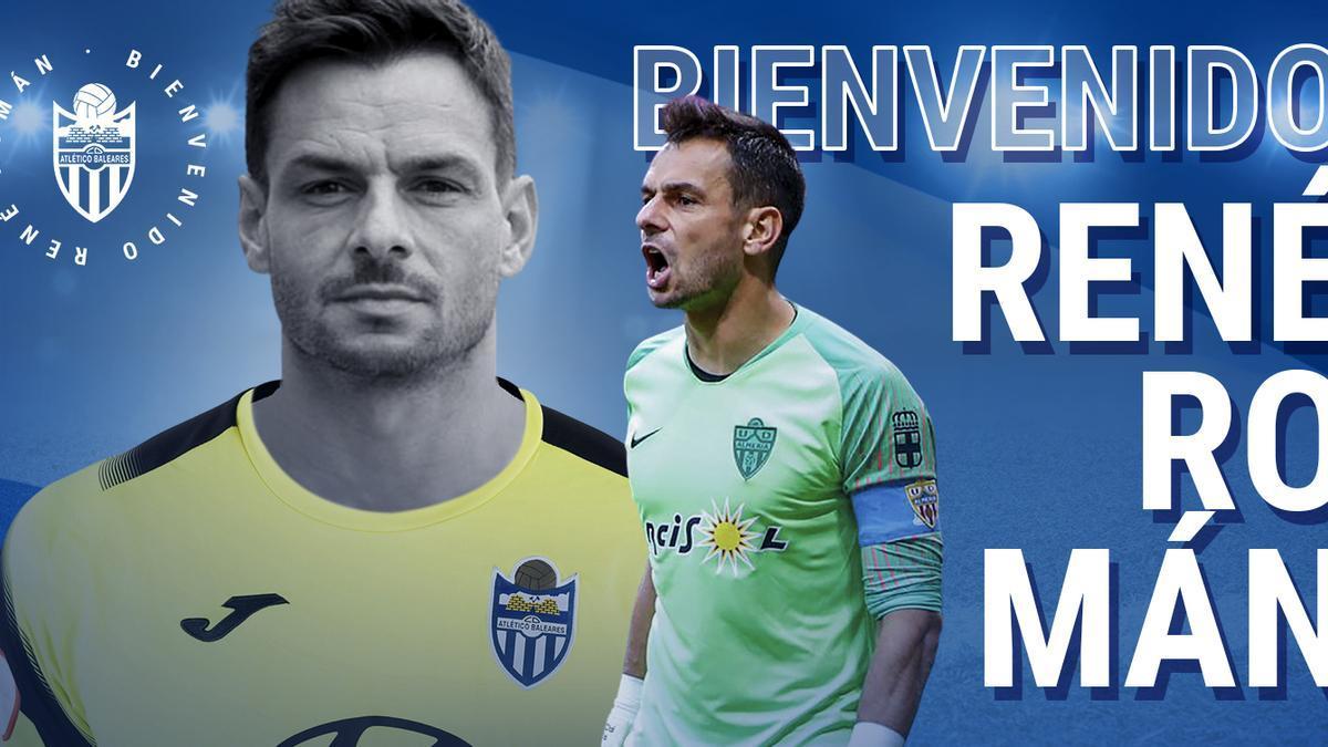 René Román, nuevo fichaje del Atlético Baleares