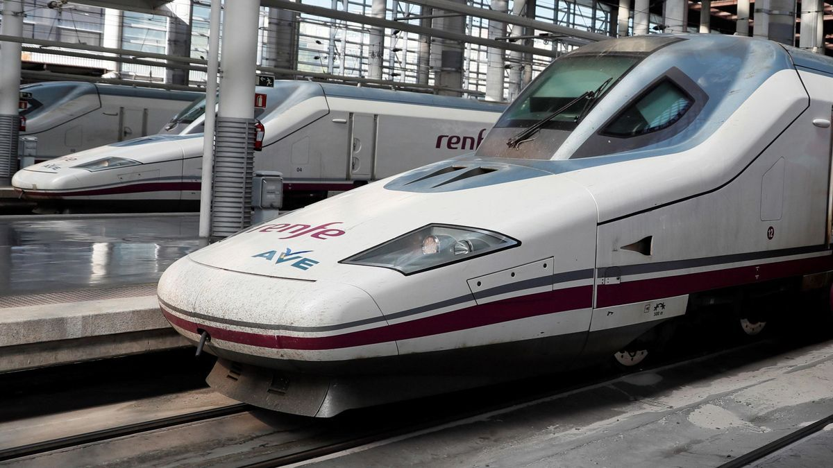 Trenes AVE de Renfe.