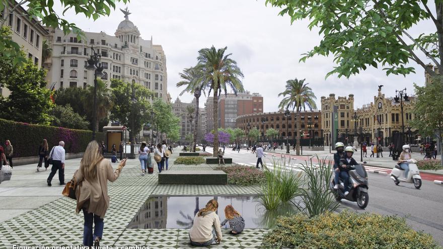 Guillem de Castro será un bulevar de la cultura con un único carril para coches