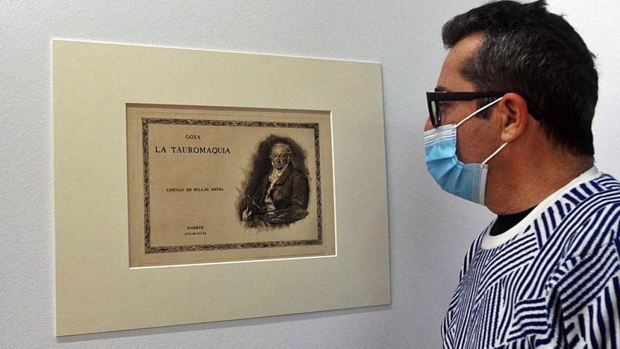Goya y su tauromaquia entran por la puerta grande a La Aurora