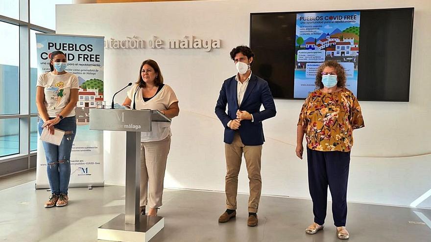 La Diputación de Málaga impulsa la repoblación en pueblos de menos de 20.000 habitantes