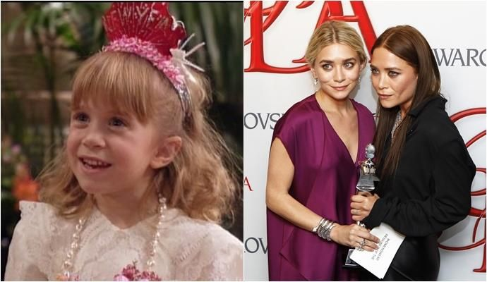 Mary-Kate y Ashley Olsen – ´Padres forzosos´ (1987-1995). ABC | REUTERS