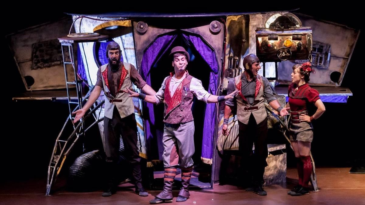 Compañía Tresperté con la obra de teatro 'Oopart'