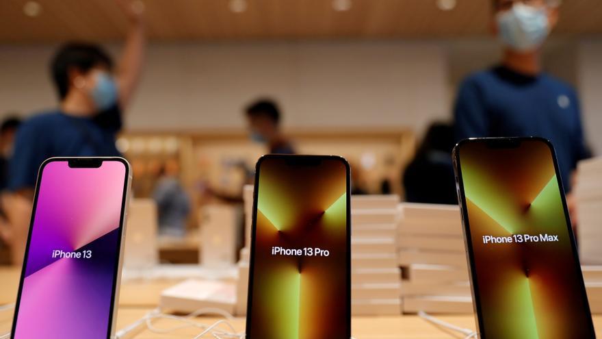 Apple reduce la producción de su iPhone 13