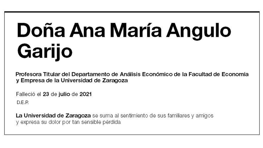 Ana María Angulo Garijo
