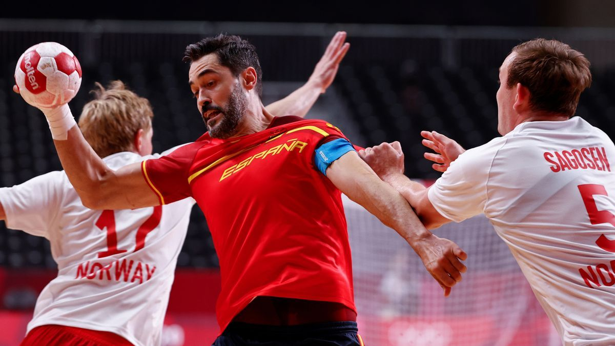 España cae por 37-31 ante Francia