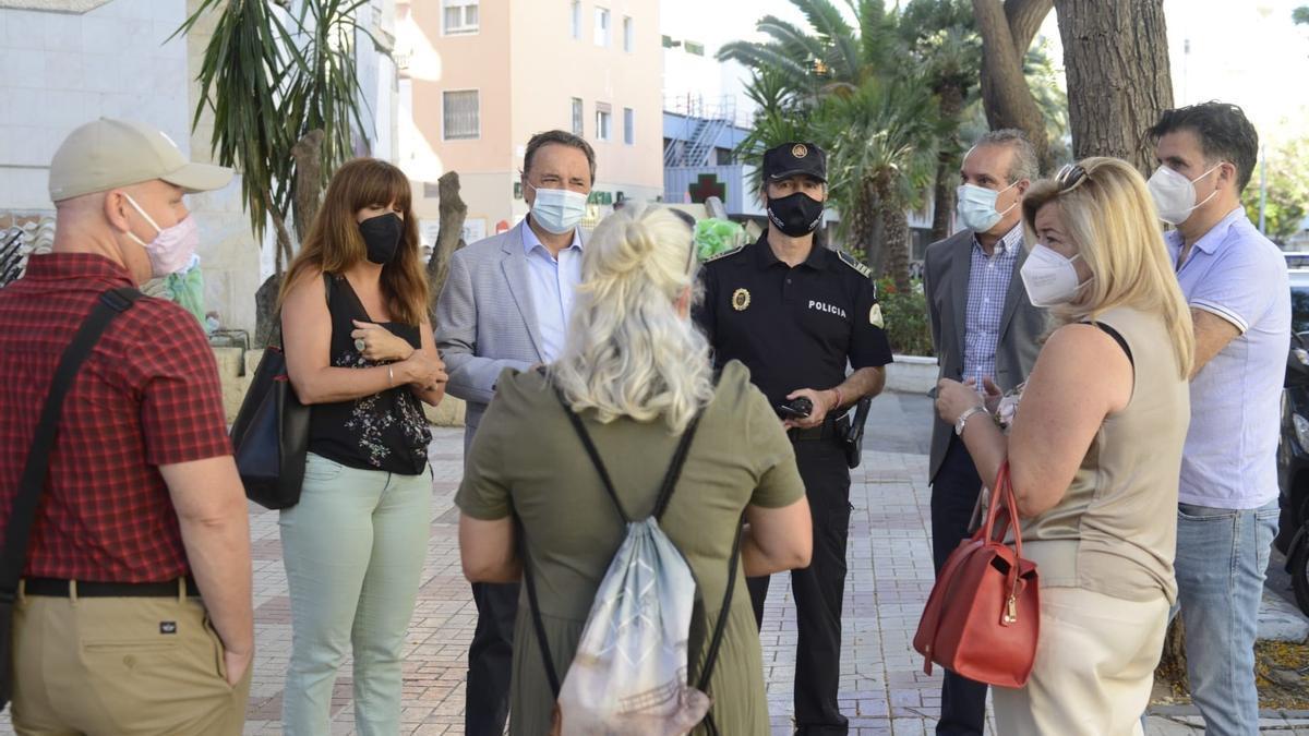 Torremolinos apuesta la por regeneración urbana del entorno del Hotel Califa tras solucionar problemas de okupación