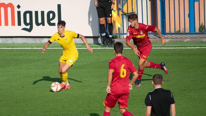 El Villarreal B cierra la pretemporada con derrota ante el Hércules (1-2)