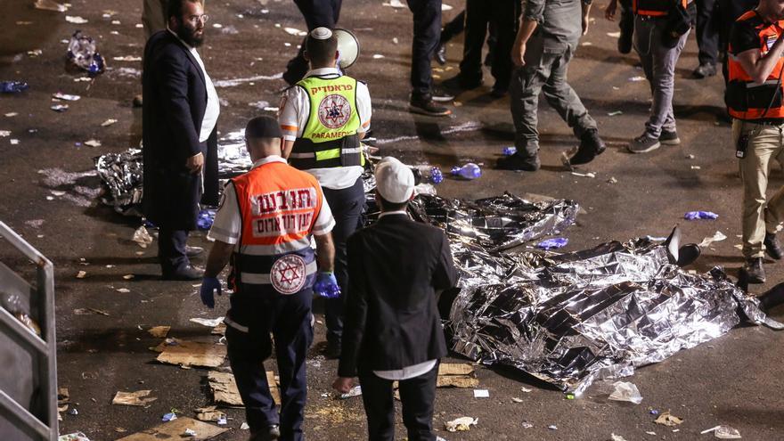 Más de 40 muertos en una estampida durante una fiesta religiosa en Israel