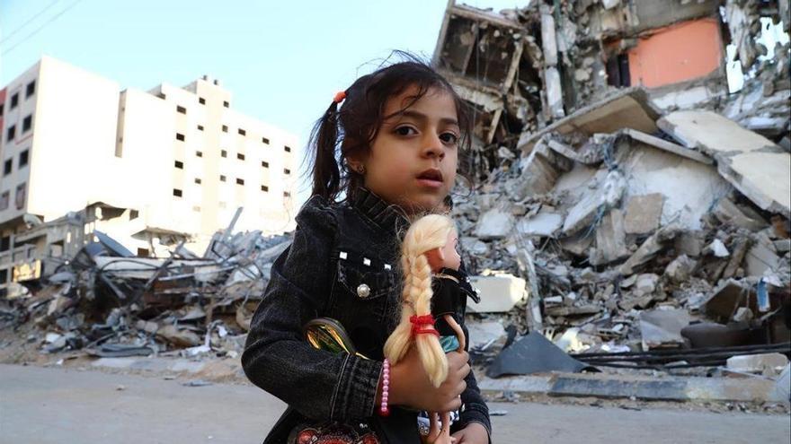 Gaza es queda sense infraestructures després de nou dies de bombardejos d'Israel