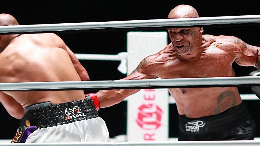 Tyson vuelve al ring con un combate nulo, pero meritorio