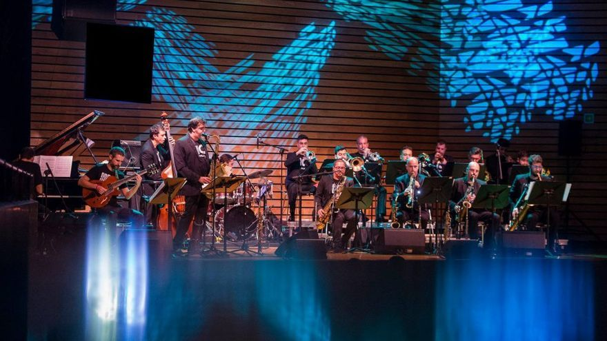 Espectáculo musical con Big Band de Canarias