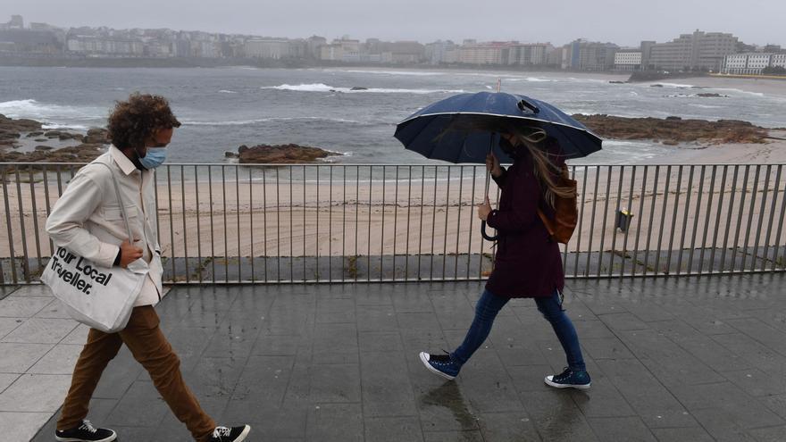 Galicia queda bajo una borrasca que traerá chubascos