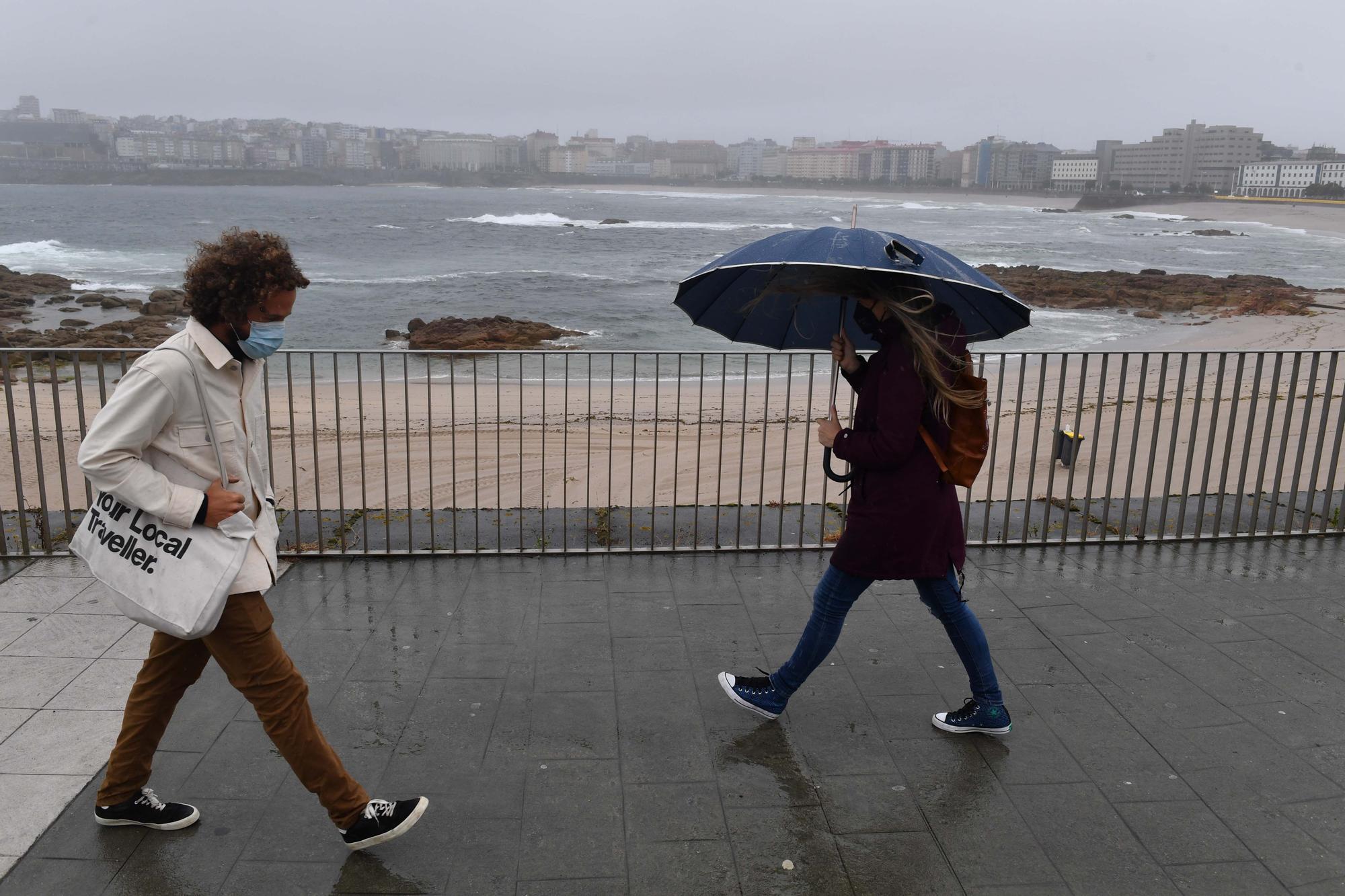 Lluvia y descenso de temperaturas