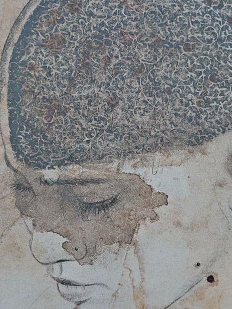 Las obras que forman parte de la muestra no son retratos de personas concretas sino la visión de un mapa universal que refleja a modo de espejo a la humanidad.