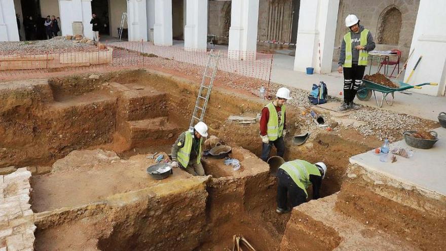 Parón en la arqueología urbana