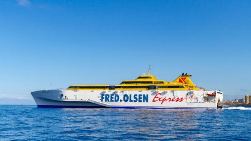 Fred Olsen reanuda la doble conexión diaria entre Tenerife y La Palma