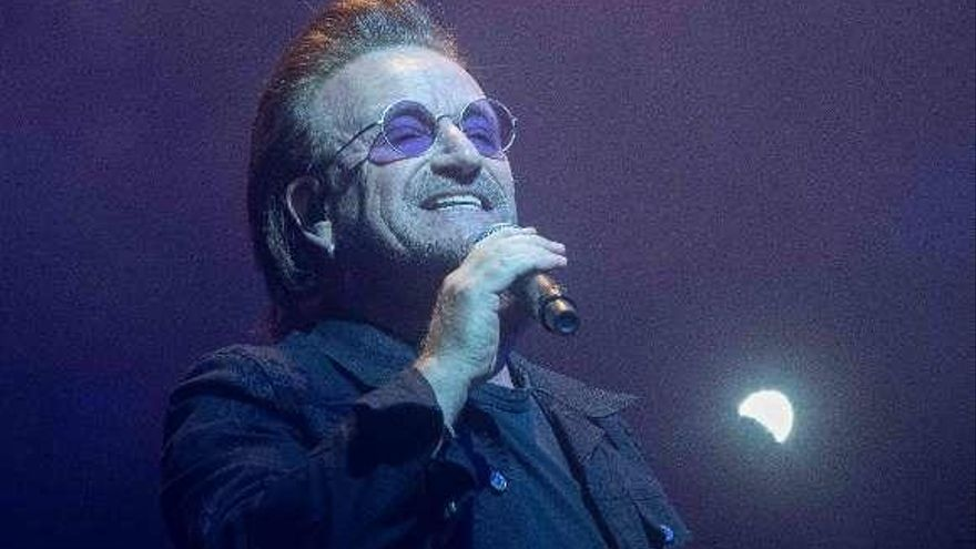 Bono recupera su voz