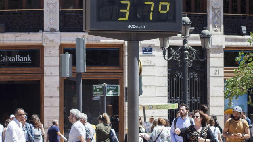 Agosto fue casi un grado más cálido de lo habitual en la C.Valenciana