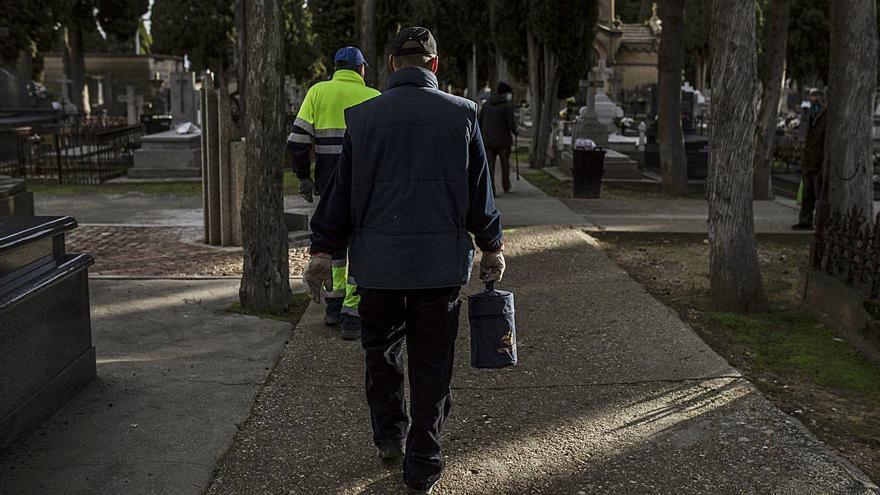"""Cementerio de Zamora: los """"adioses"""" solitarios"""