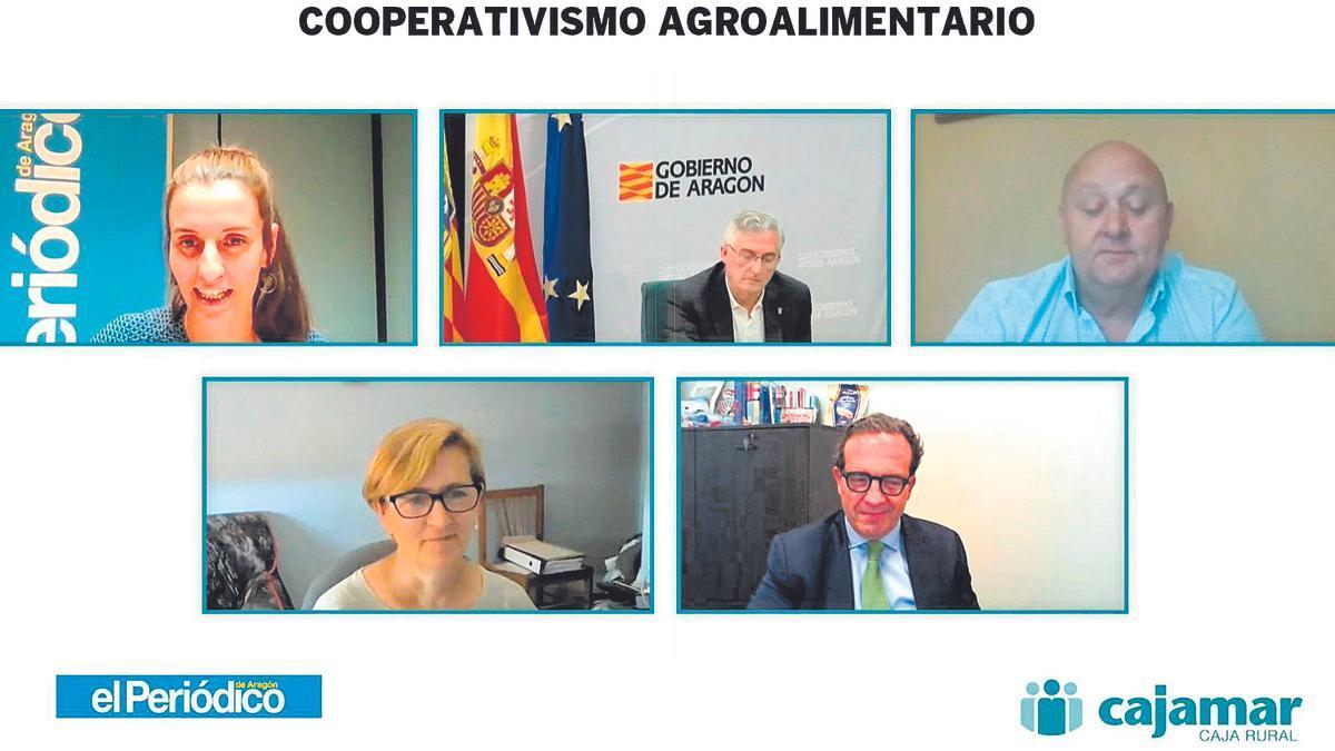 El encuentro digital sobre cooperativismo agroganadero se celebró en la web de este diario el pasado martes 29 de junio.