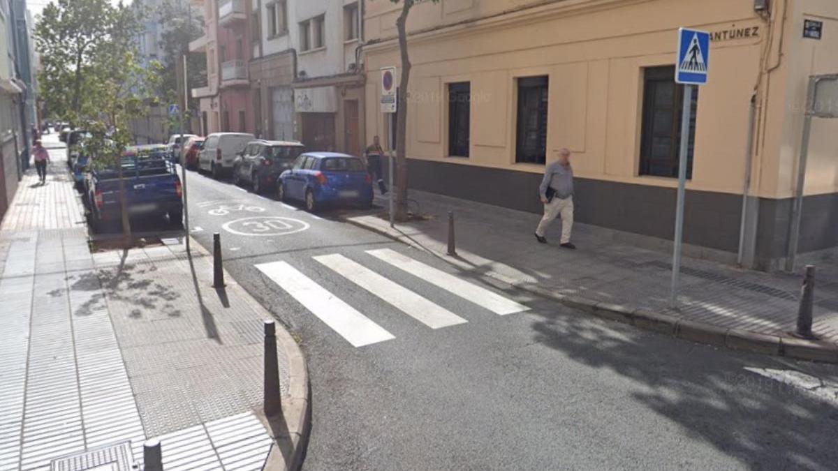 Calle Luis Antúnez, lugar de los hechos.