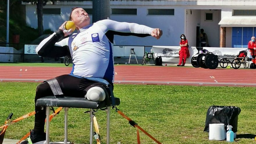 El sueño está a un paso: David Fernández supera su propio récord de España y ve más cerca los Juegos Paralímpicos