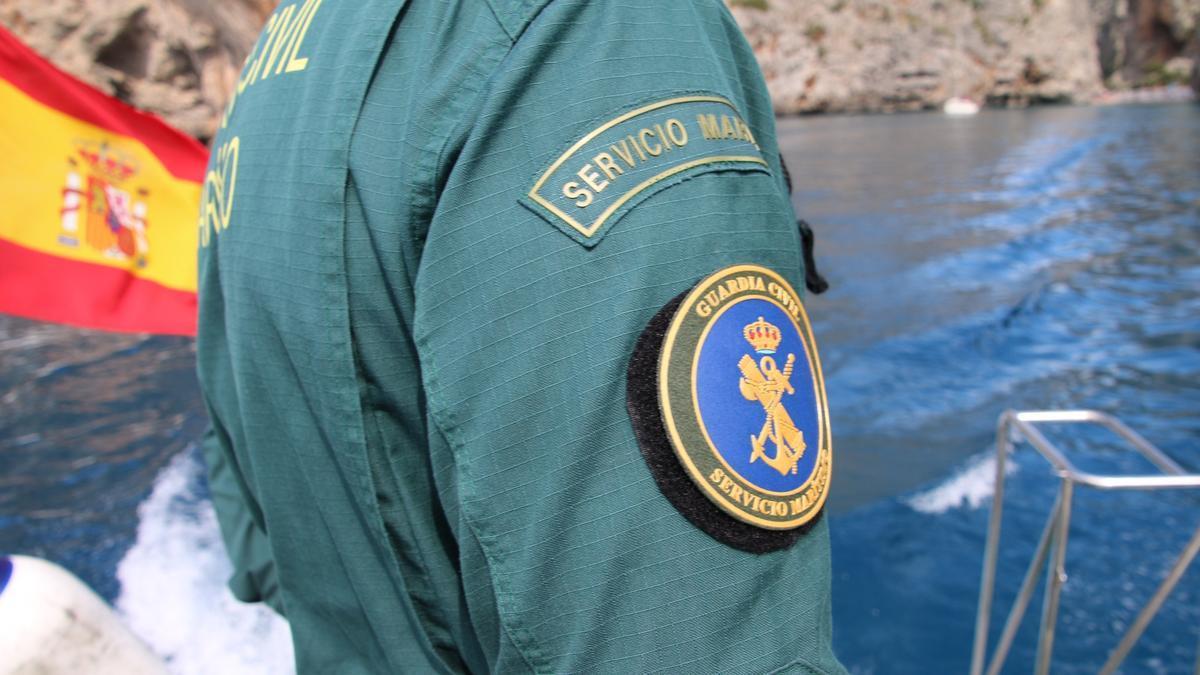BALEARES.-Sucesos.- Interceptada una patera con 16 migrantes al sur de Cabrera