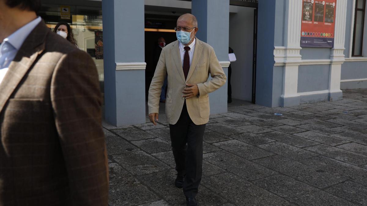 """El vicepresidente Igea en Zamora en una imagen de archivo del congreso de LA OPINIÓN DE ZAMORA """"Razones para quedarnos II"""""""