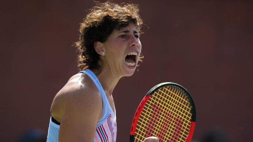 Carla Suárez, contra Kerber en la segunda ronda del Abierto de China